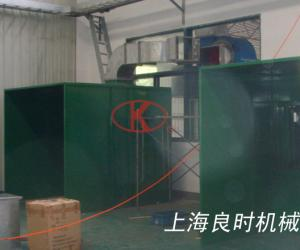 A set of special spray adhesive room for an auto-parts manufacturer in Shanghai